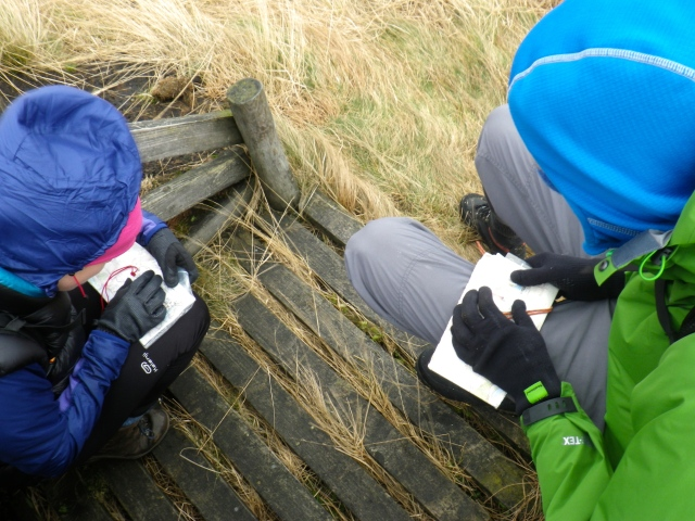 Navigation Training Course, Peak District